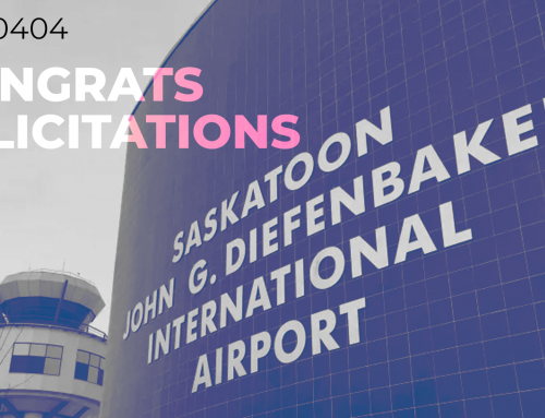 Congrats to Saskatoon Airport's employees