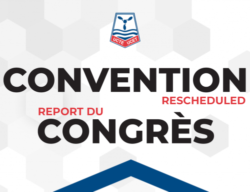 UCTE Convention – RESCHEDULED
