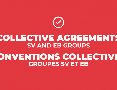 Collective agreements signed for the SV and EB groups