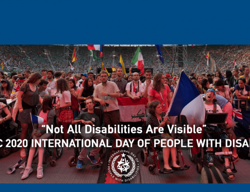 December 3: International Day of People with Disabilities