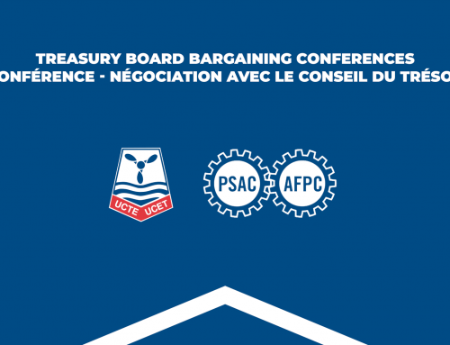 Treasury Board bargaining conferences – Activists from equity groups invited to participate