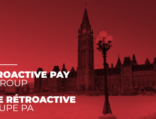 Problems related to retroactive pay – PA group