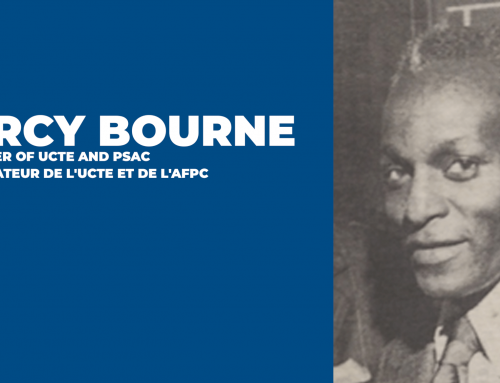 Black History Month – A founder of UCTE and PSAC: Percy Bourne