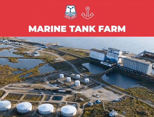 Port of Churchill and Marine Tank Farm in response to the notice about a change in ownership