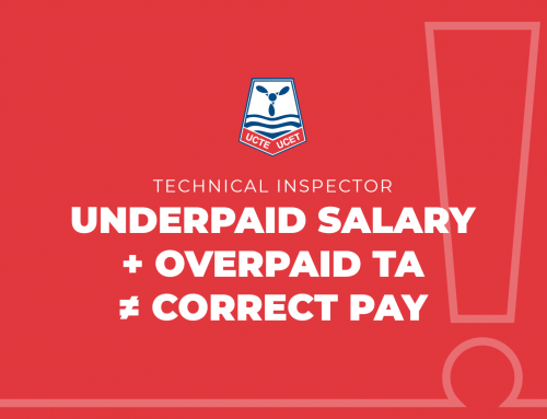 Underpaid salary + overpaid TA ≠ correct pay
