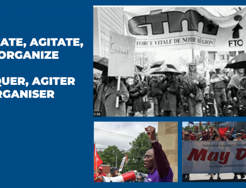 """""""Educate, Agitate, and Organize"""" in our communities"""