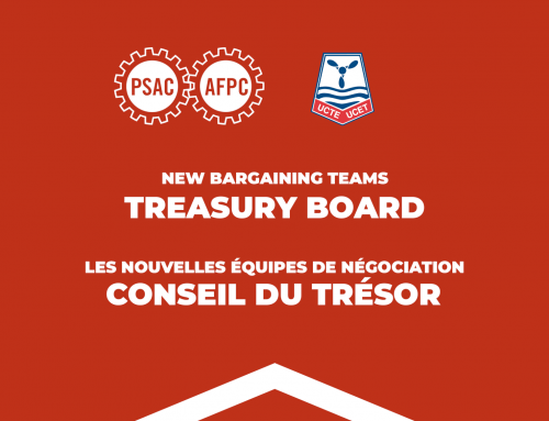 2021 PSAC National Bargaining Conference with Treasury Board: the new bargaining teams