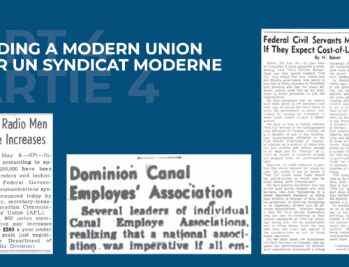 Building a Modern Union – Part IV: Building solidarity was hard work