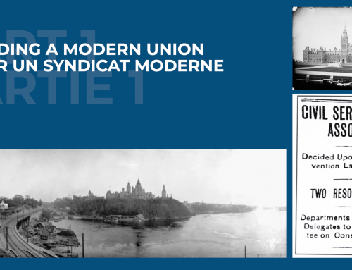 Building a Modern Union – Part I:  Building a union for federal workers