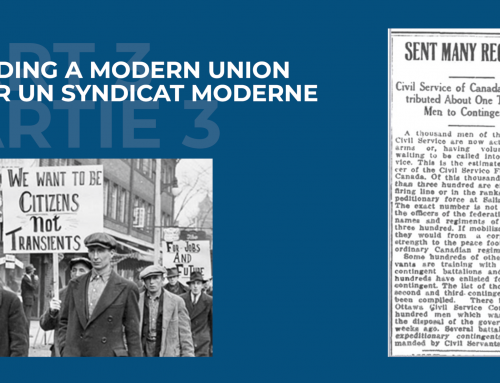 Building a Modern Union – Part III: Militancy was growing day by day